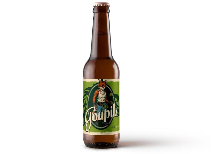 Bière La Goupils - La Bicéphale