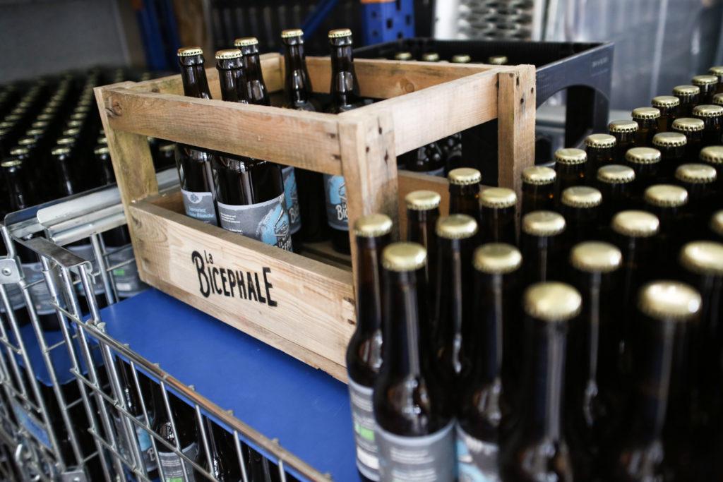 Cagettes de bières La Bicéphale Weissbier